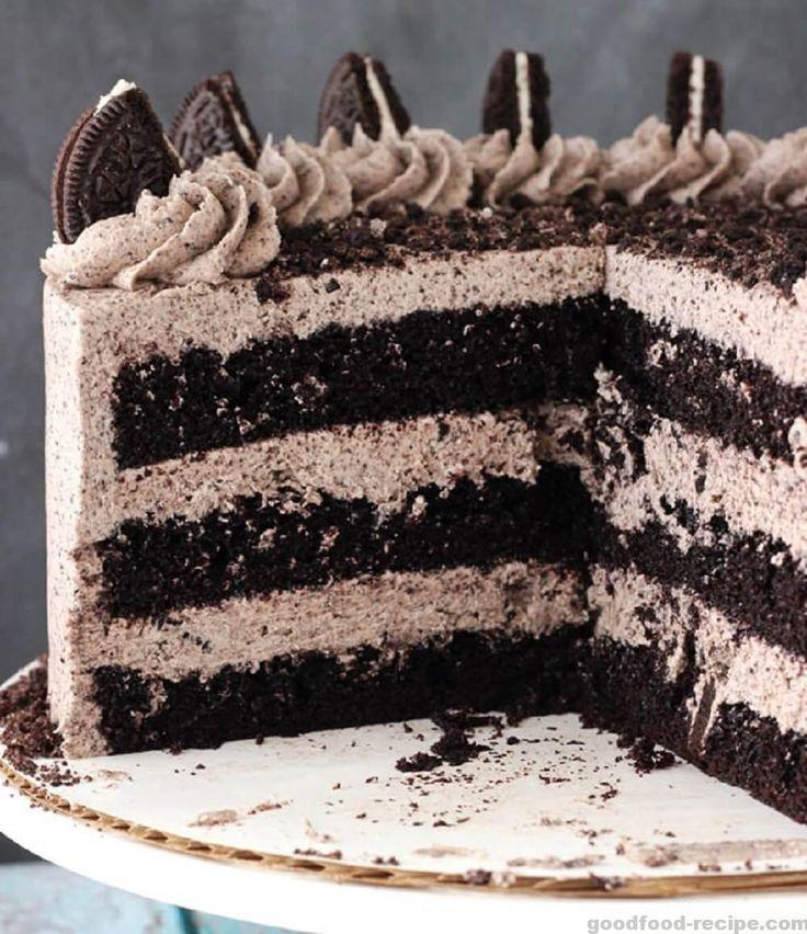 Good Food Recipe Chocolate Oreo Cake - best ever - Good Food Recipe