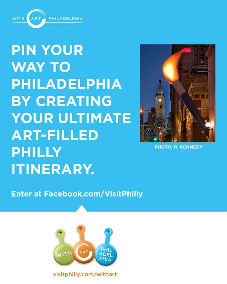 Pin to Win: Pin Your Way With Art Philadelphia