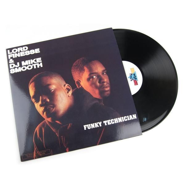 Lord Finesse & DJ Mike Smooth: Funky Technician Vinyl LP