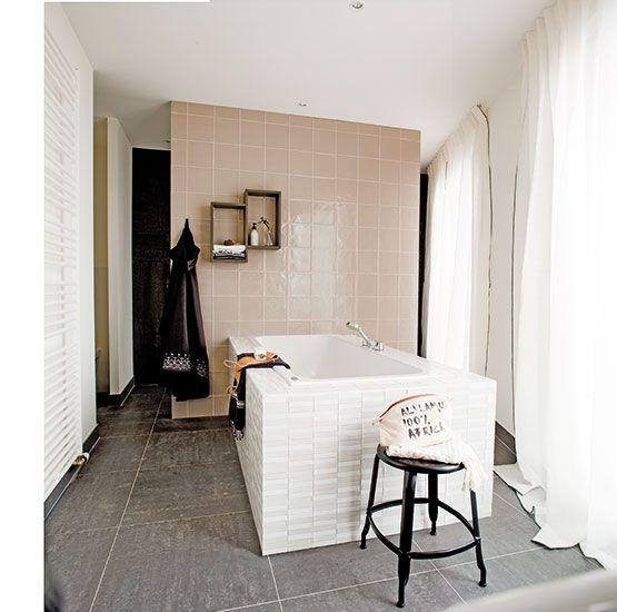 Travertin In De Badkamer ~ VTwonetegels  via Mozaiek utrecht  badkamer  bathroom  salle de