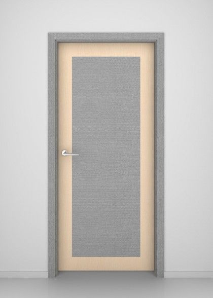 Grey Oak Ontario Flush Interior Door