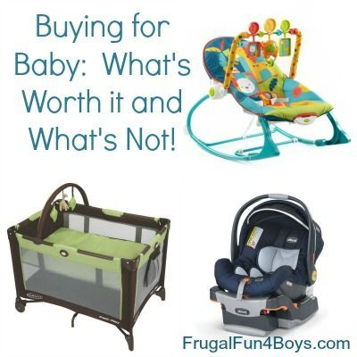 Buying for Baby:  What Gear is Worth it and What's Not (From a mom of 5!) #affiliate