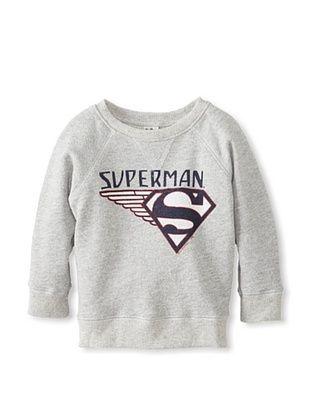 48% OFF Junk Food Kid's Superman Sweatshirt (Stneh)