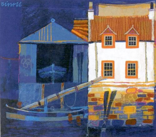 Boat House by George Birrell
