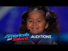 "Heavenly Joy: A Cute Kid Taps and Sings ""In Summer"" from Frozen - America's Got Talent 2015 - YouTube"