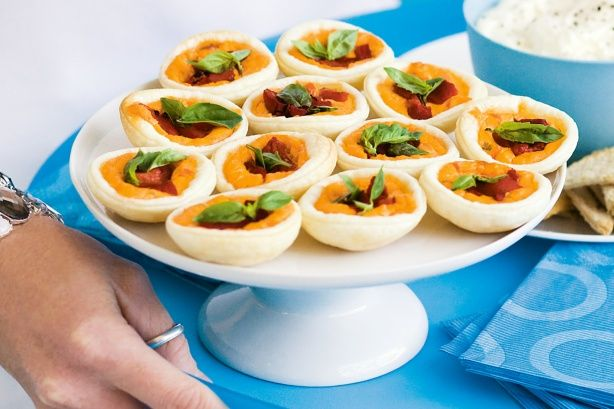 You only need four ingredients to make these miniature tartlets.