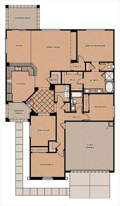 Fulton homes floor plans maricopa az for Arizona home plans