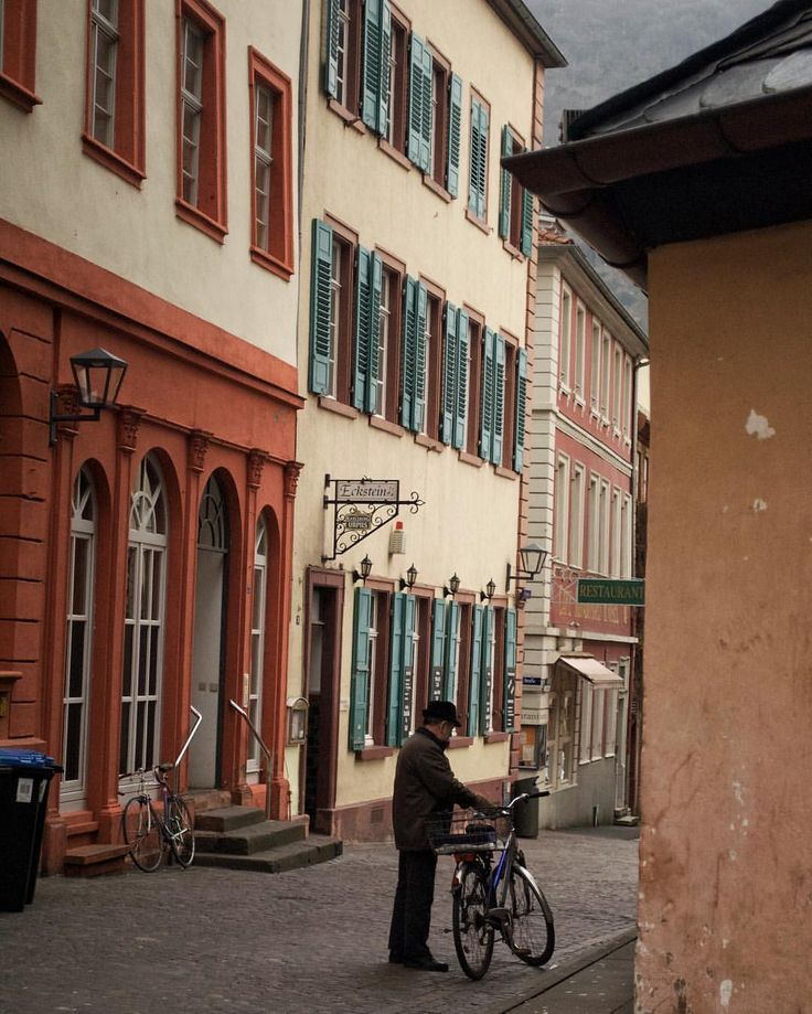 Heidelberg Altstadt/Old Town  Instagram > @erinehm