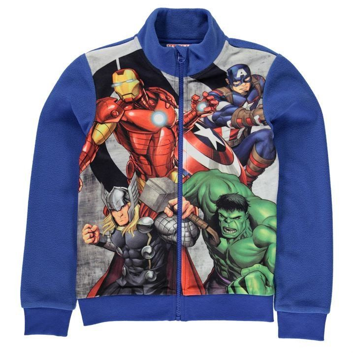 Lasten Marvel Avengers fleecetakki