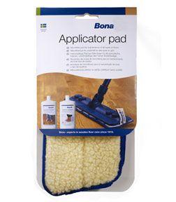 Bona Refresherpad    Heel eenvoudig polish aanbrengen op de parketvloer met deze pad.    Te gebruiken met de Bona Mop.