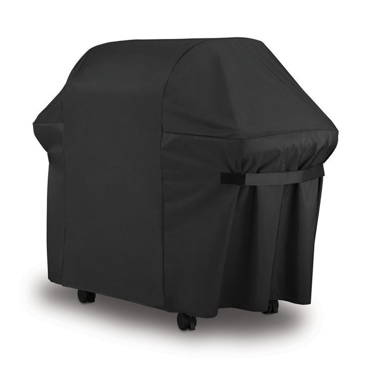 Weber BBQ Gas Grill Cover 7107 44x60 in Heavy Duty Waterproof Weather Resistant Genesis Spirit Series Outdoor Barbeque Covers by LiBa