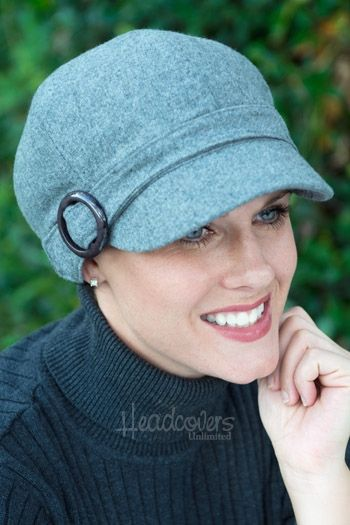 hats for cancer patients - headcovers.com elastic at neckline & tightens at buckle, would love to make kyra something with these features - also with a fleece lining (all of her hats are itchy & she's cold, even inside!)