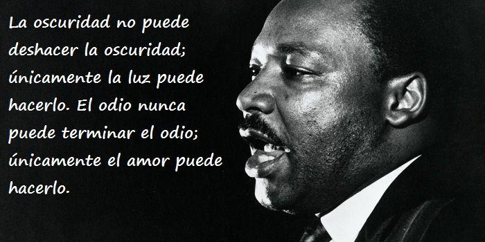 Una serie de citas del gran luchador por los derechos civiles de los afroamericanos.