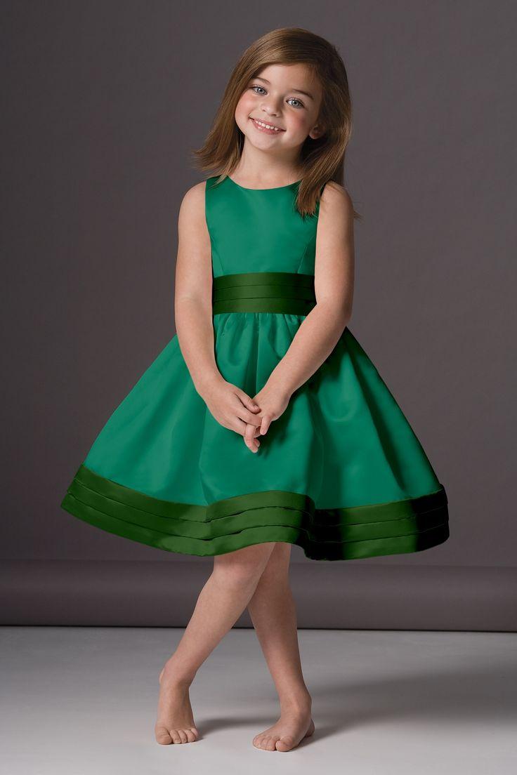 Seahorse Flower Girl Dress   Weddington Way in Emerald