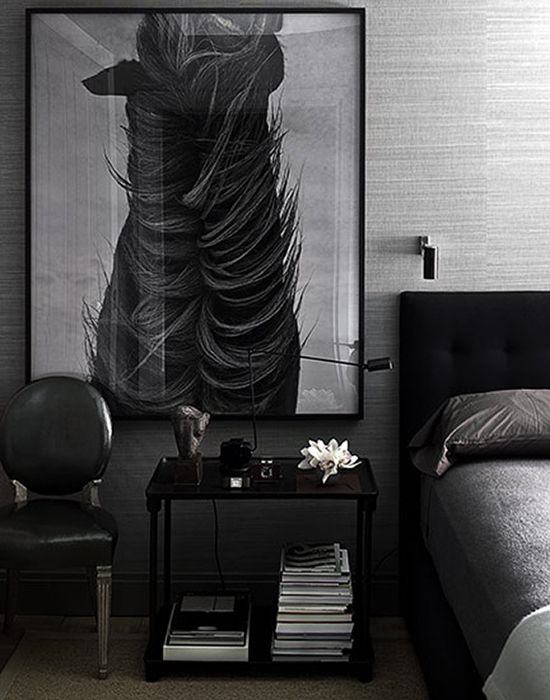 shade of grey #interiors #fashion #decor #masculine #arhitektura+