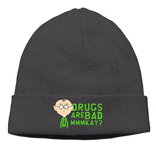 American Adult Animated Sitcom South Park Trey Parker Matt Stone Winter Beanie Hat Slouchy Beanie