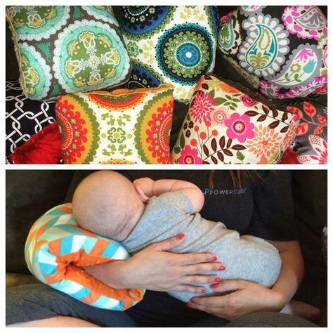 Lactancia materna Nursie almohada de apoyo por FromMeinhartToYours