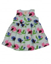 Bird dress.: Birdi Sundresses, Girls 0 3, Cotton Dresses, Baby Baby, Toddlers Girls, Birds Dresses, Baby Clothing, Frugi Βρεφικό, Baby Girls Dresses