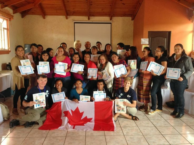 Guatemalan Teachers Learn About Tribes. Read this blog about a Canadian Tribes Trainer's trip to Guatemala