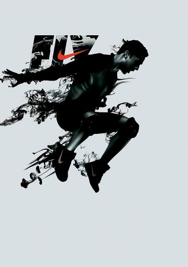 Fly – advertorial design for Nike | typography / graphic design: Inspiration @ kiss my Black ads | Nike |