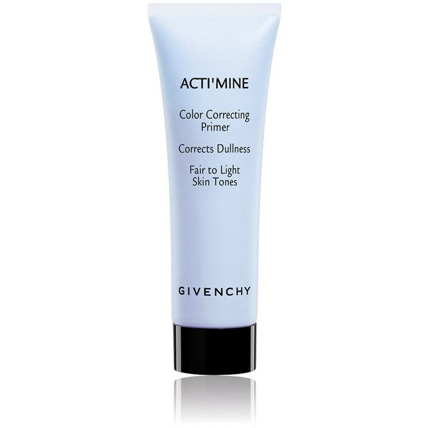 Givenchy Beauty Women's Acti'Mine Color Correcting Primer - 04 Plum-Co found on Polyvore featuring beauty products, makeup, face makeup, makeup primer, colorless and givenchy