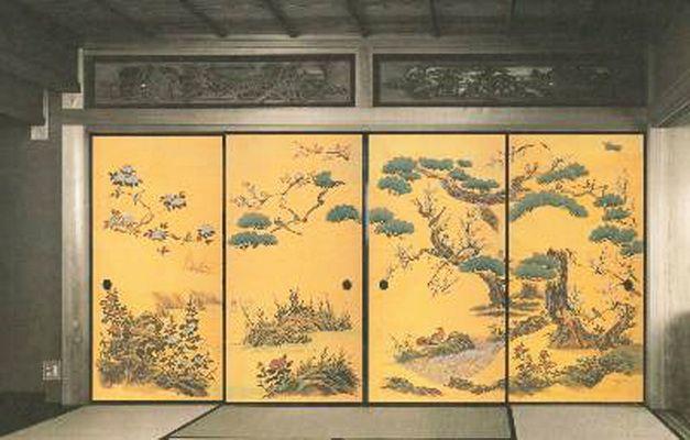 Shoji Sliding Doors (fusuma 襖)