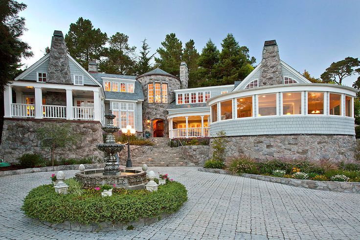 Mansion dream house california s compelling cape cod for Cape cod luxury homes