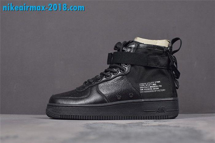 Nike Shoes   Sf Air Force 1 Mid Mens Triple Black   Poshmark