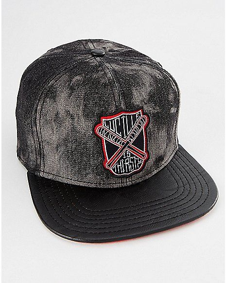 Lucille Is Thirsty The Walking Dead Snapback Hat - Spencer s  783d58f18e6