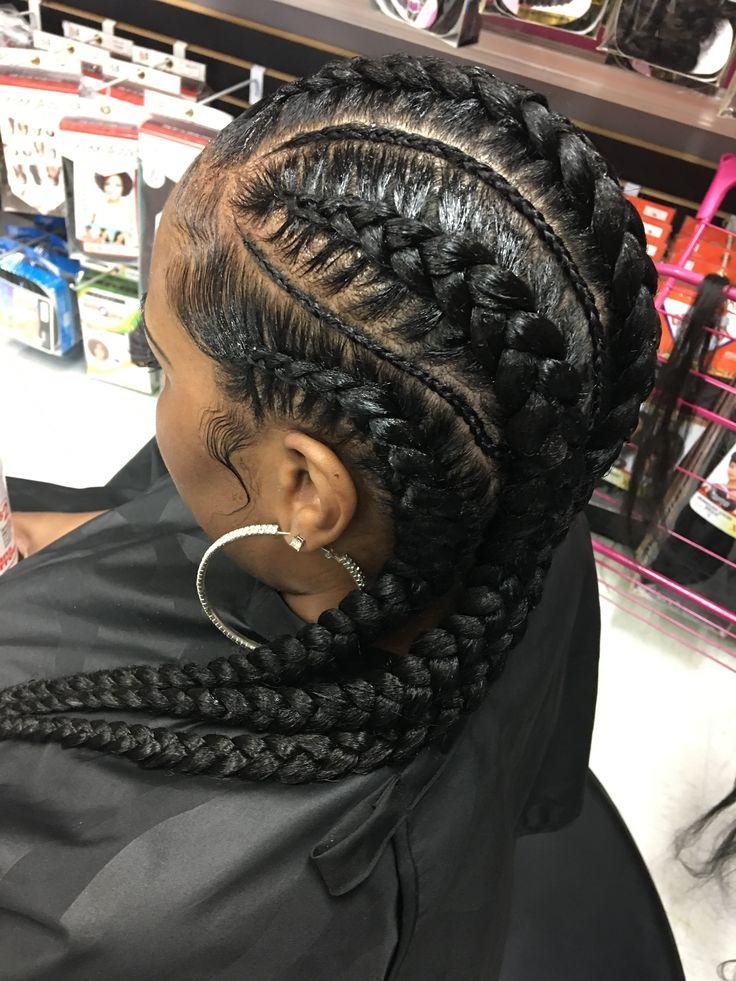 Short Braid Hairstyles For Black Hair