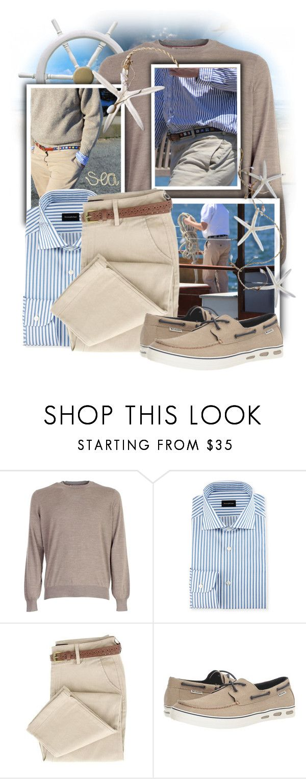 """""""Columbia Men's Shoes"""" by tasha1973 ❤ liked on Polyvore featuring Brunello Cucinelli, Salt Water Sandals, Ermenegildo Zegna and Columbia"""