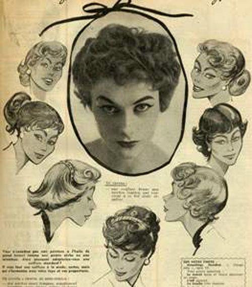 hair styles 1940-55