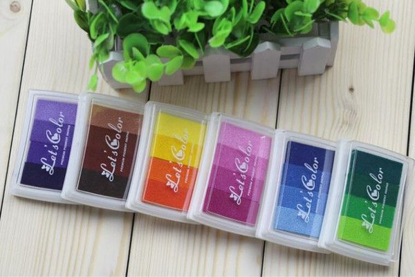 Wholesale Vivid Oil Gradient Stamp Set Inkpad Stamps Fabric Wood Paper Scrapbooking Inkpad Fingerprint Inkpad Wedding Craft Stamp Albums Discount Rubber Stamps From Huojuhua, $17.85| Dhgate.Com