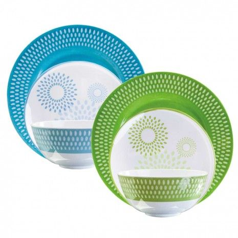 Urban Patio Dinnerware Collection by Danesco  sc 1 st  Pinterest & 213 best Dinnerware images on Pinterest | Dinner ware Dinnerware ...