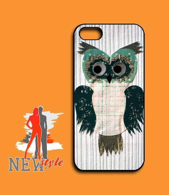 iphone 5 case  Cute owl kawaii  iphone 5 case  by NewStyleDesign, $16.00