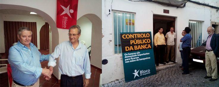 Campomaiornews: Bloco de Esquerda inaugura nova sede em Campo Maio...
