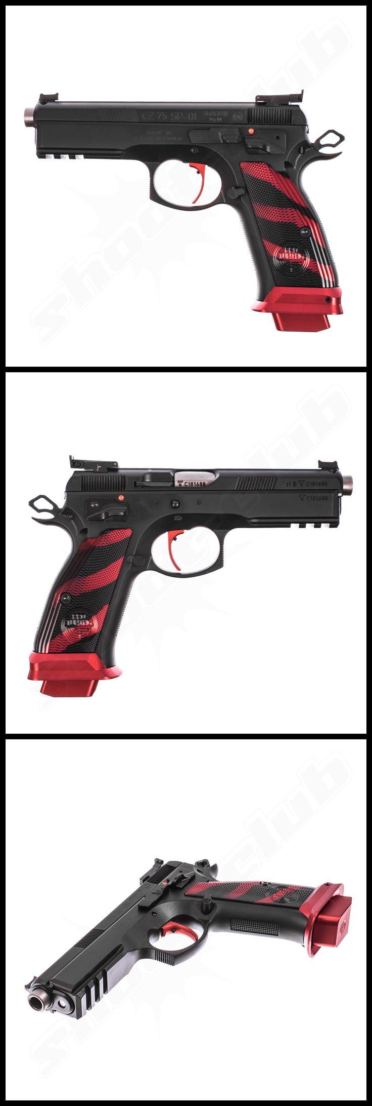 """CZ 75 SP-01 Shadow """"Boa"""" im Kaliber 9mm Luger    - weitere Informationen und Produkte findet Ihr auf www.shoot-club.de -    #shootclub #pistol #pistole #guns #9mm"""