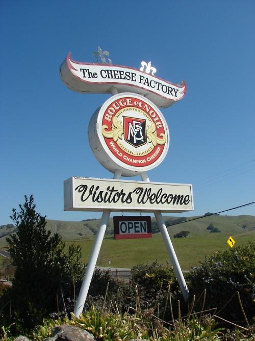 The Cheese Factory, Petaluma, CA ~ #ridecolorfully