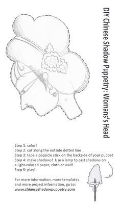 61 best images about doll patterns on pinterest see more for Free shadow puppet templates