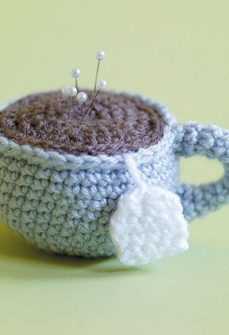 15 best amigurumi pincushion images on Pinterest | Crochet ideas ...