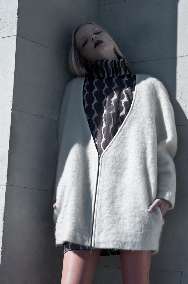 A Drop of White Gouache by Ausra Osipaviciute, via Behance, Designer Ieva Daugirdaite