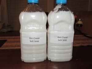 DIY Cleaning: Dirt Cheap Soft Soap