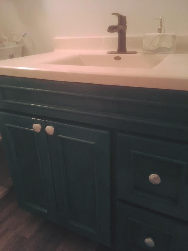 bathroom vanity in custom color unicorn spit bathroom vanity rh pinterest com