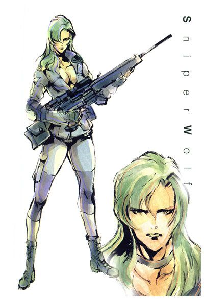 Sniper Wolf, Metal Gear Solid 1