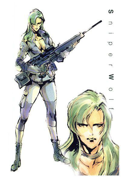 Sniper Wolf, Metal Gear Solid 1