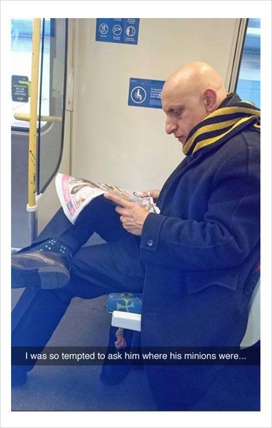 man in train funny meme