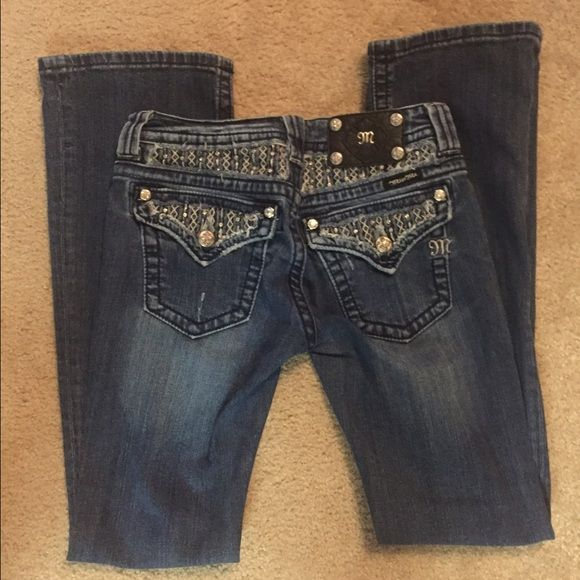 """⭐️FLASH SALE⭐️Authentic Miss Me Jeans In excellent condition. Worn once. Length: 31"""" Miss Me Jeans Boot Cut"""