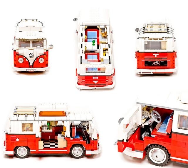 volkswagen t1 camper van de lego t1 volkswagen world. Black Bedroom Furniture Sets. Home Design Ideas
