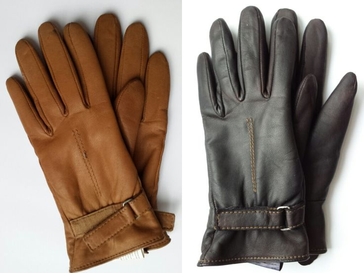 DIY: Dyed Leather Gloves (inc DIY leather conditioner & cleaner)