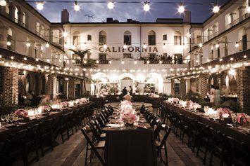 LOVE the look of this venue!  wedding rustic outdoors barn vintage southern california Villa Del Sol   Fullerton